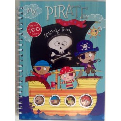 ACTIVITY BOOK - MY PIRATE