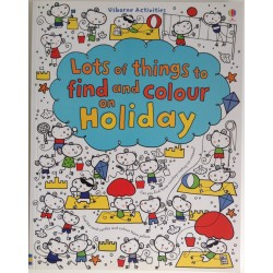 FIND AND COLOUR BOOK - HOLIDAY