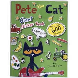 GIANT STICKER BOOK - PETE THE CAT
