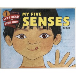 SCIENCE  BOOK - MY FIVE SENSES