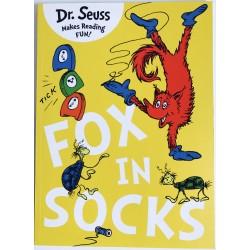 STORYBOOK - DR. SEUSS FOX IN SOCKS