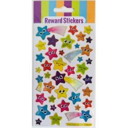 REWARD STICKERS - STARS