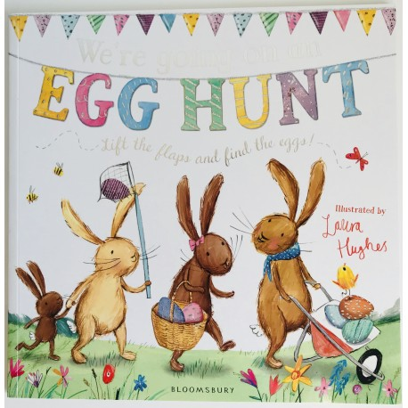 STORYBOOK - WE´RE GOING ON AN EGG HUNT