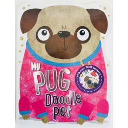 COLOURING BOOK - MY PUG DOODLE PET