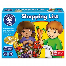 MATCHING AND MEMORY GAME - SHOPPING LIST