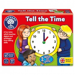 NUMBER AND COUNTING GAME - TELL THE TIME