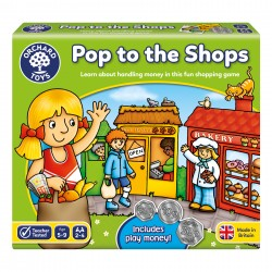 NUMBER AND COUNTING GAME - POP TO THE SHOPS
