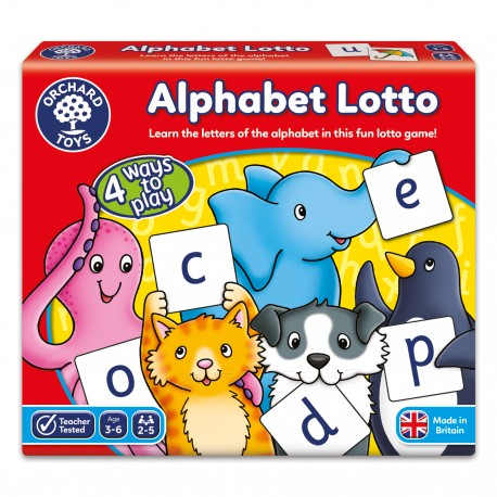 LANGUAGE AND LITERACY GAME - ALPHABET LOTTO