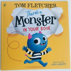 STORYBOOK - THERE´S A MONSTER IN YOUR BOOK