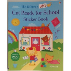 STICKER BOOK - GET READY FOR SCHOOL
