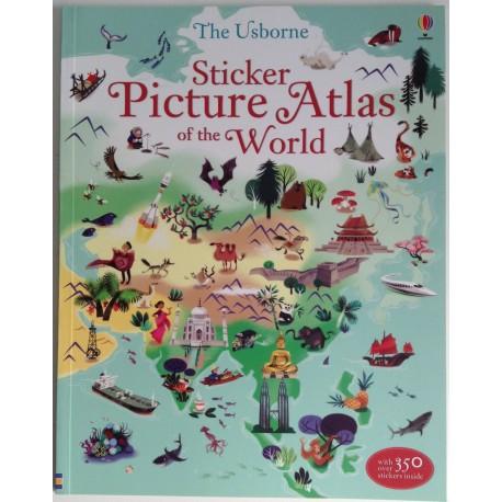 STICKER BOOK - PICTURE ATLAS