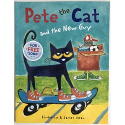 "STORYBOOK - PETE THE CAT ""AND THE NEW GUY"""