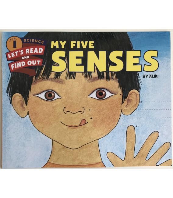 SCIENCE  BOOK - MY FIVE SENSES