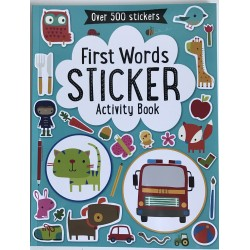 STICKER ACTIVITY BOOK - FIRST WORDS