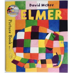 STORYBOOK + CD - ELMER
