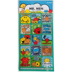 REWARD STICKERS - MR MEN