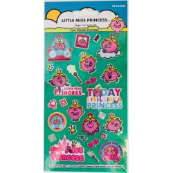STICKERS - LITTLE MISS PRINCESS