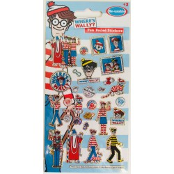 STICKERS - WHERE´S WALLY?