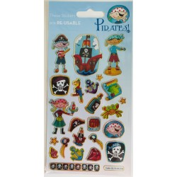 STICKERS - PIRATES!