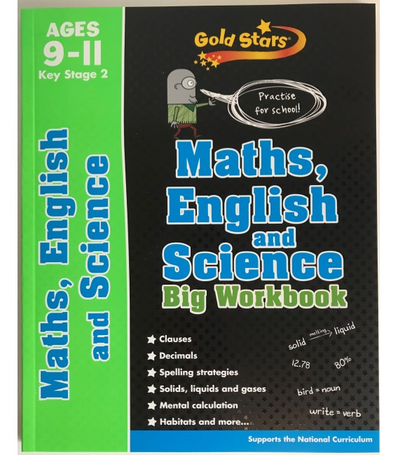 BIG WORKBOOK - MATHS, ENGLISH AND SCIENCE
