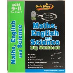 BIG WORKBOOK - MATHS, ENGLISH AND SCIENCE