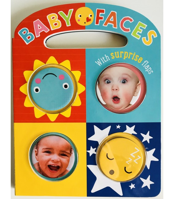 INTERACTIVE BOOK - BABY FACES EMOTIONS