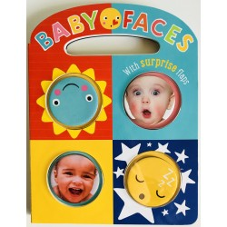 INTERACTIVE BOOK - BABY FACES