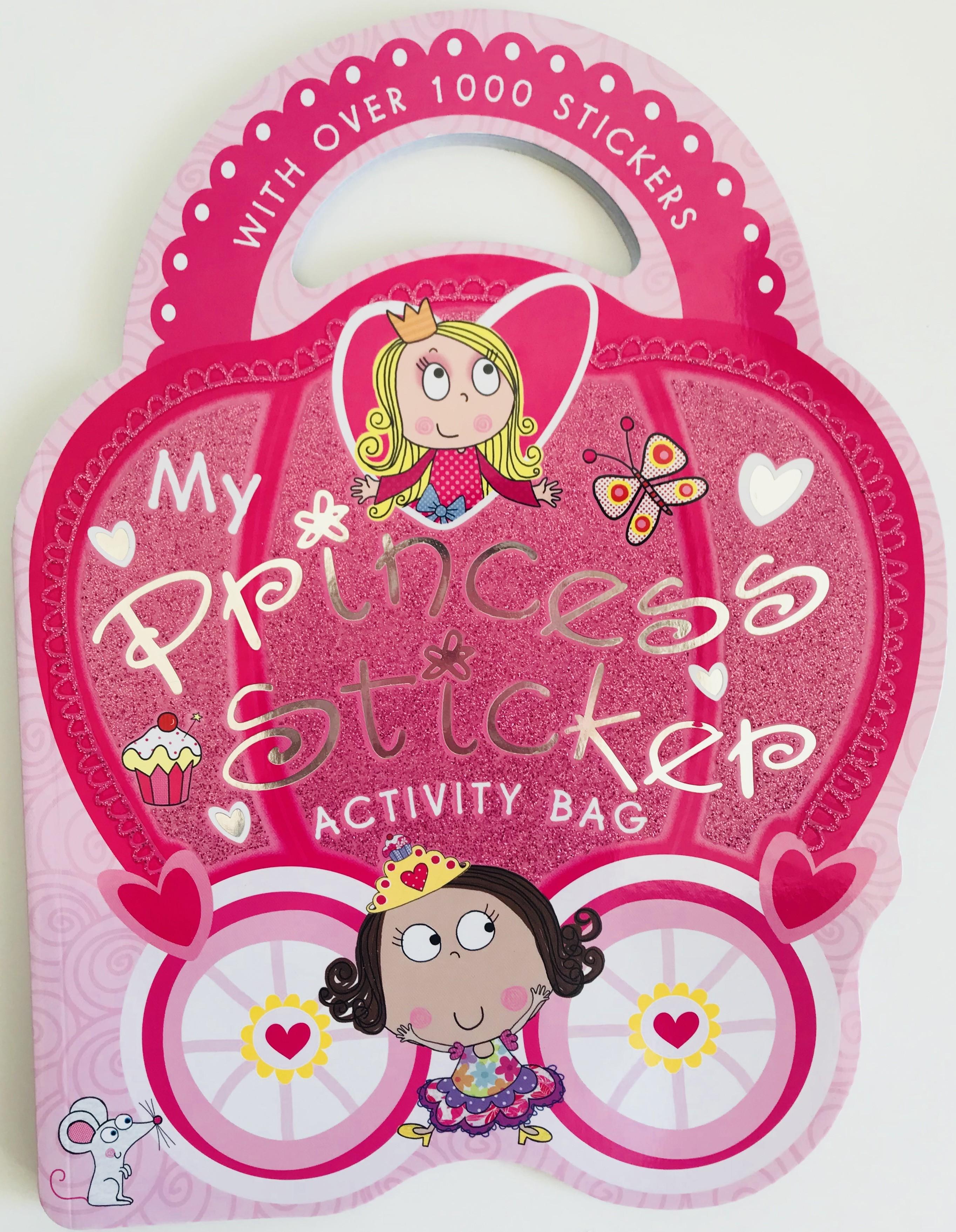 Sticker Activity Book My Princess Childrens Books Murcia Pretty Pink