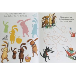ACTIVITY BOOK - WE´RE GOING ON AN EGG HUNT