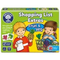 MATCHING AND MEMORY GAME - SHOPPING LIST EXTRAS FRUIT & VEG