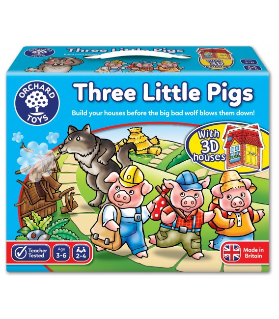 BOARD GAME - THREE LITTLE PIGS