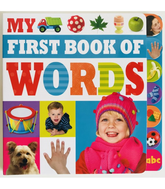 MY FIRST BOOK OF - FIRST WORDS
