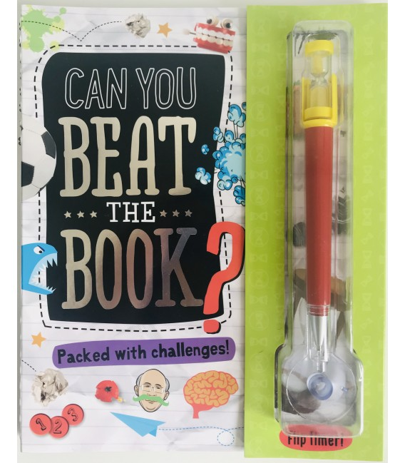 ACTIVITY BOOK - CAN YOU BEAT THE BOOK?