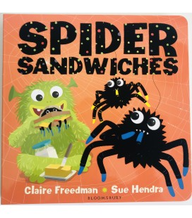 STORYBOOK - SPIDER SANDWICHES