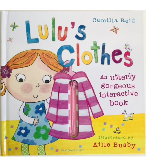 INTERACTIVE BOOK  - LULU´S CLOTHES