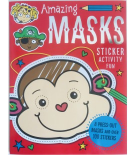 STICKER ACTIVITY BOOK - AMAZING MASKS