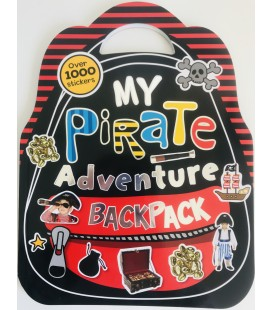 STICKER ACTIVITY BOOK - MY PIRATE ADVENTURE