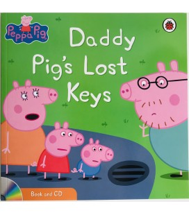 STORYBOOK + CD - DADDY PIG´S LOST HIS KEYS