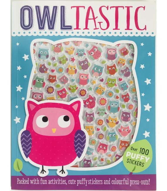 STICKER ACTIVITY BOOK - OWLTASTIC