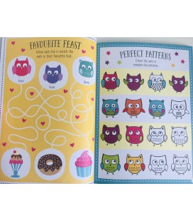 STICKER ACTIVITY BOOK - OWLTASTIC