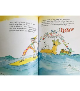 STORYBOOK - MRS ARMITAGE AND THE BIG WAVE