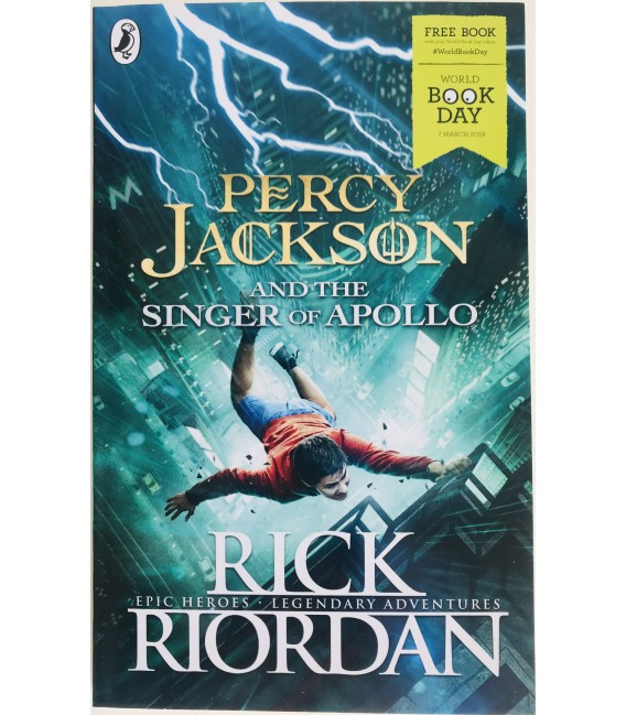 FICTION BOOK WBD - PERCY JACKSON AND THE SINGER OF APOLLO