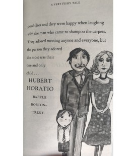 FICTION BOOK - HUBERT HORATIO A VERY FISHY TALE