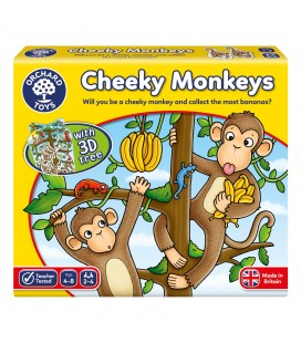 NUMBER AND COUNTING GAME - CHEEKY MONKEYS