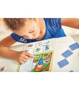 MATCHING AND MEMORY GAME - SUPERHERO LOTTO