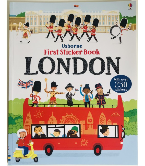 FIRST STICKER  BOOK - LONDON