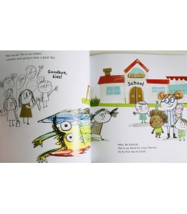STORYBOOK - THE COLOUR MONSTER GOES TO SCHOOL