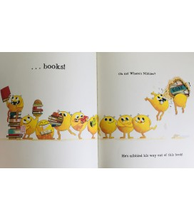 STORYBOOK - NIBBLES THE BOOK MONSTER