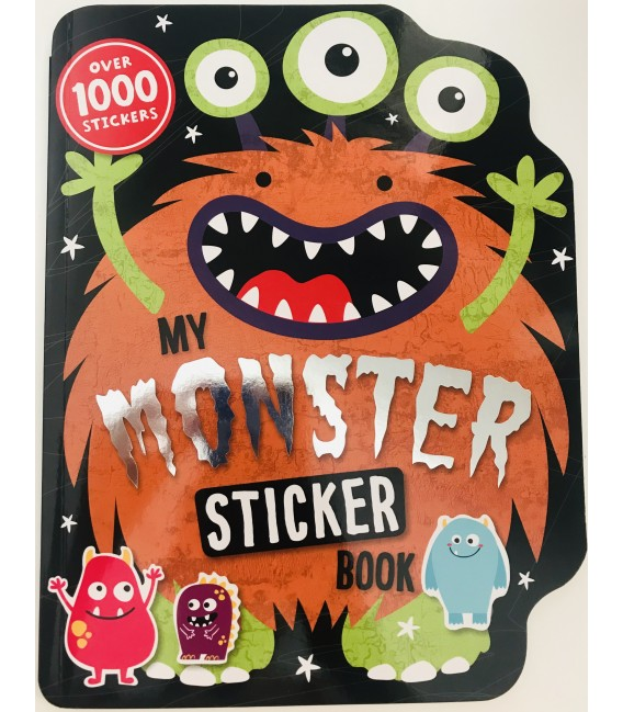 STICKER ACTIVITY BOOK - MONSTER