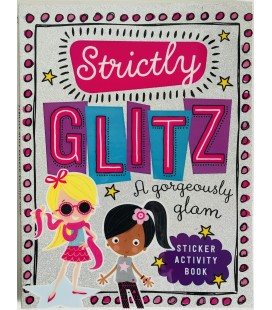 STICKER ACTIVITY BOOK - STRICTLY GLITZ